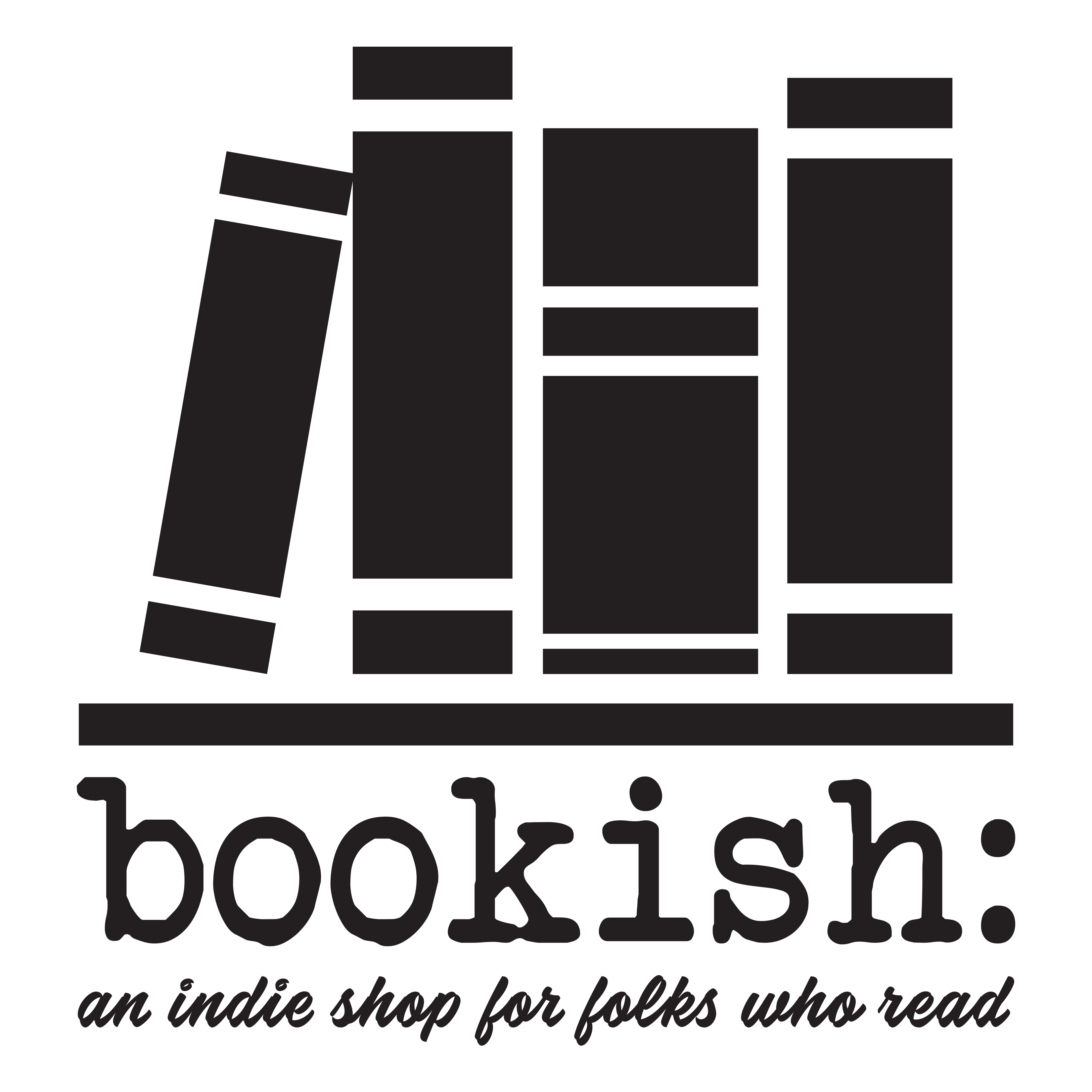 Bookish: an indie store for those who read logo